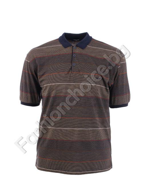 Ριγέ ανδρική μπλούζα / 3XL, 4XL,/