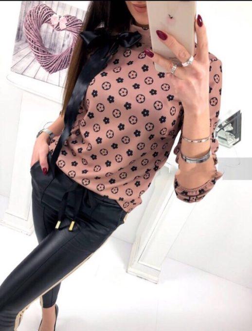 Γυναικεία μπλούζα με φιόγκο