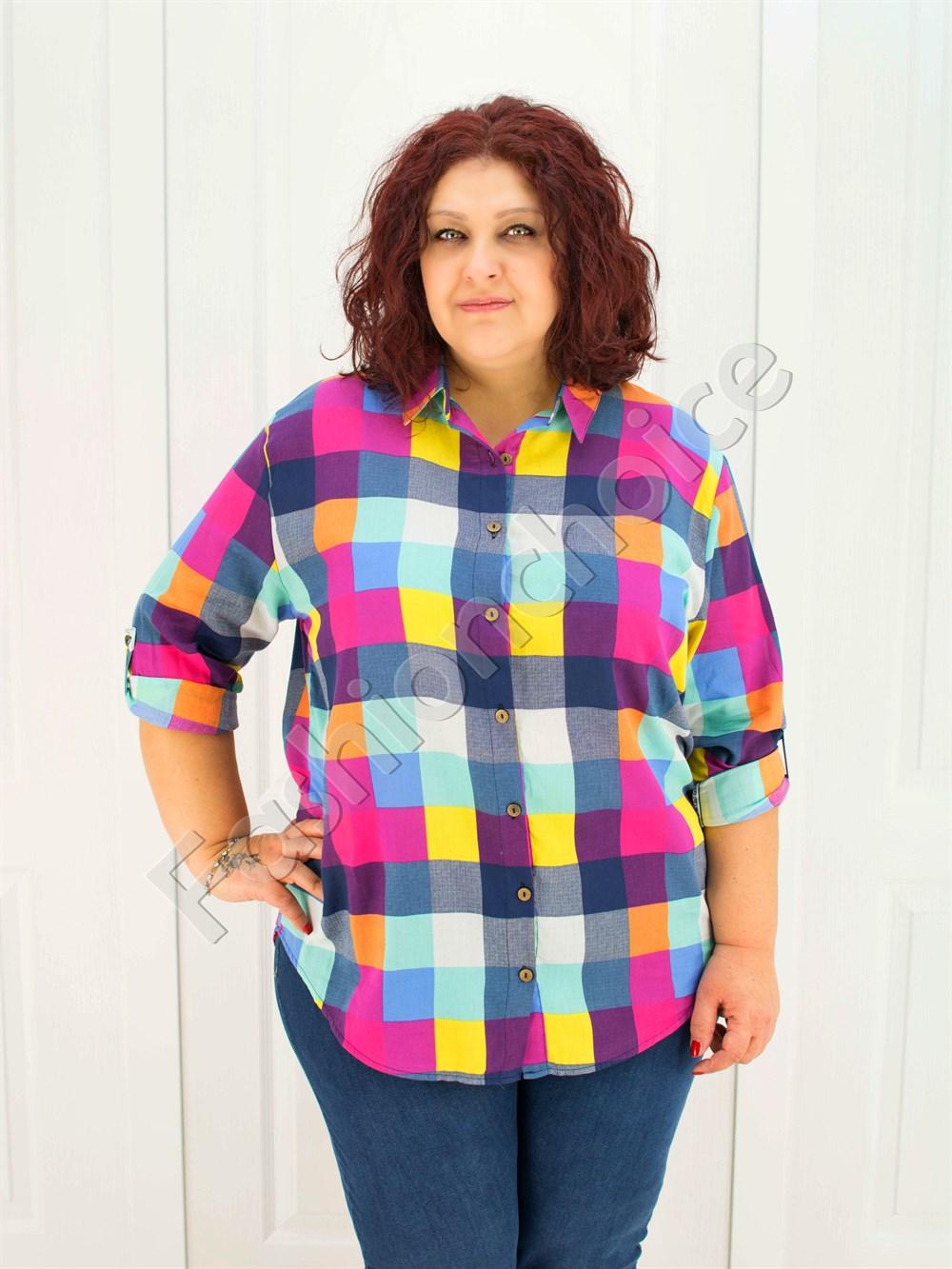 179e09588ad7 Ανοιξιάτικο καρό πουκάμισο κωδ 704 από το fashionchoice.gr