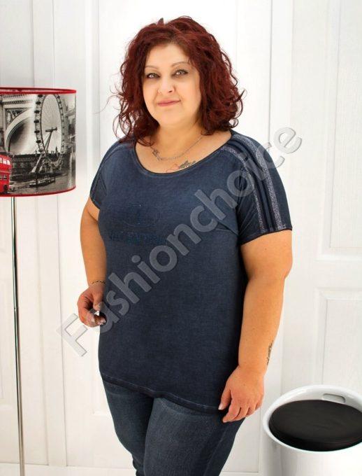 Γυναικεία μπλούζα με φάσα στους ωμους κωδ 713