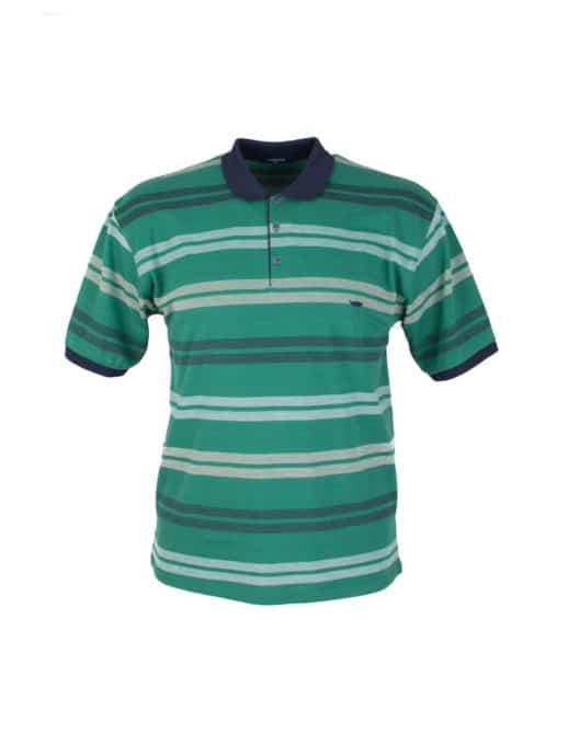 Ριγε ανδρική μπλούζα plus size κωδ 733-8327-1