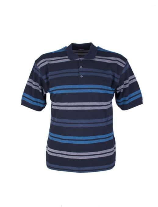 Ριγε ανδρική μπλούζα plus size κωδ 733-8327-2