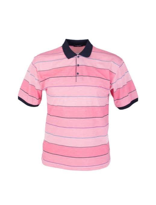 Plus size μπλούζα με λεπτή ρίγα κωδ 734-8328