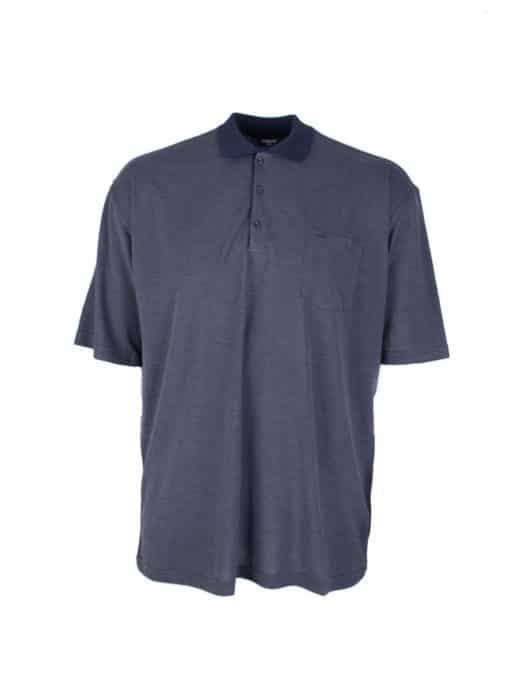 Ανδρική μπλούζα plus size με τσέπι κωδ 738-9092-2