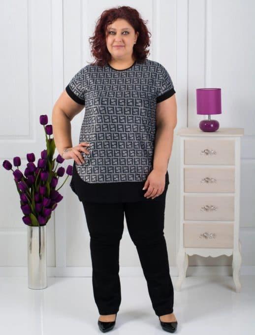 Ασημι γυναικεία μπλούζα κωδ 711-7034
