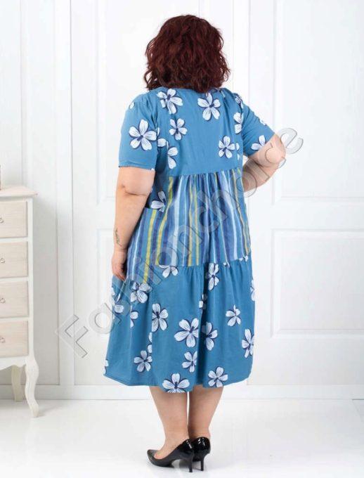 Φόρεμα βαμβακερό σε τρία χρώματα κωδ 534-19598
