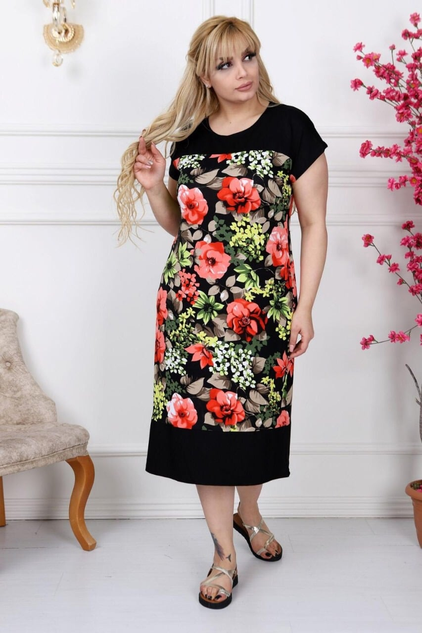 10ee497b005 Φόρεμα με λουλούδια κωδ 741-9 Fashionchoice..gr