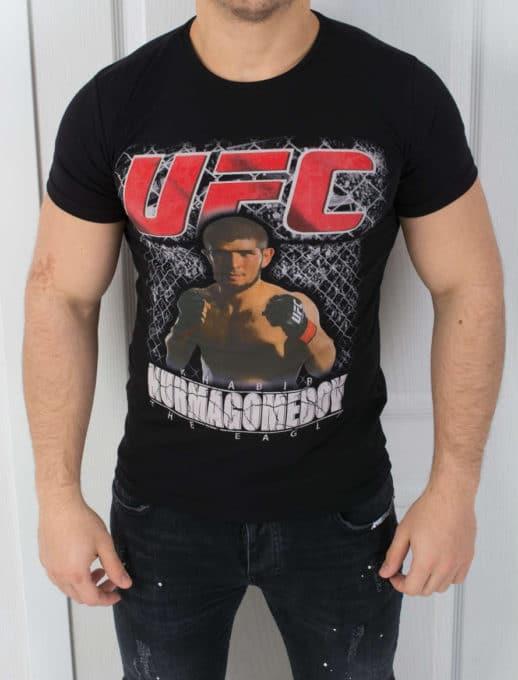T-shirt με στάμπα κωδ 784-2