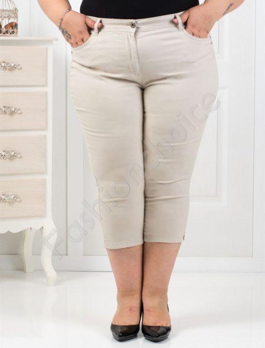 Παντελόνι κάπρι plus size κωδ 838-3