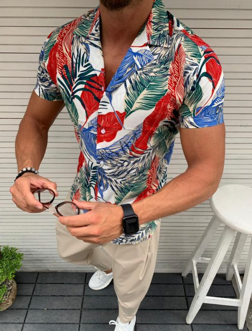 Tropical πουκάμισο κωδ 856