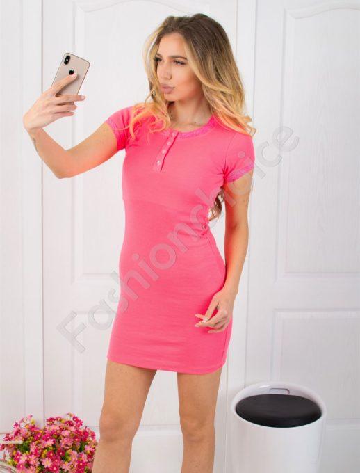 Ριπ βαμβακερό φόρεμα κωδ 793-15