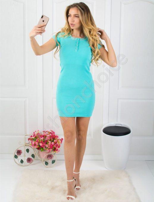 Ριπ βαμβακερό φόρεμα κωδ 793-14