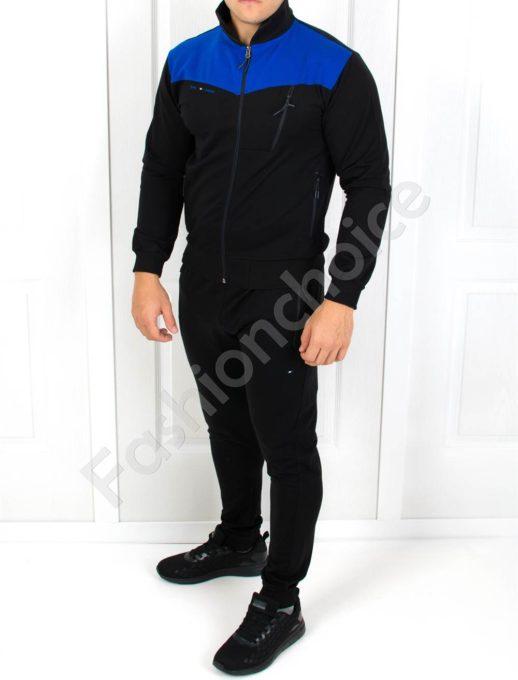 Αθλητικό σετ με μπλε λεπτομέρεια κωδ 5905
