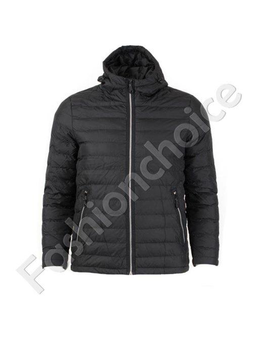 Μαύρο αδιάβροχο μπουφάν /2XL,3XL4XL,5XL,6XL/κωδ 005