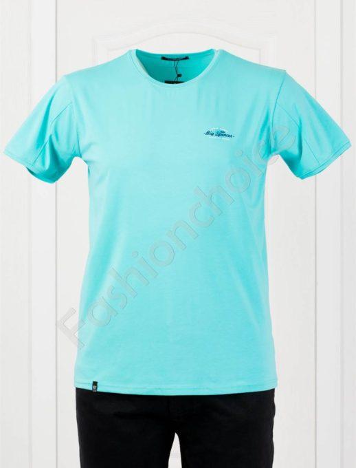 Plus Size T-shirt σε βεραμάν κωδ 073-5