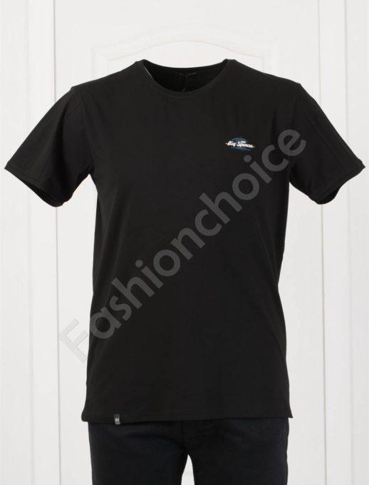 Plus Size T-shirt σε μαύρο κωδ 073-8