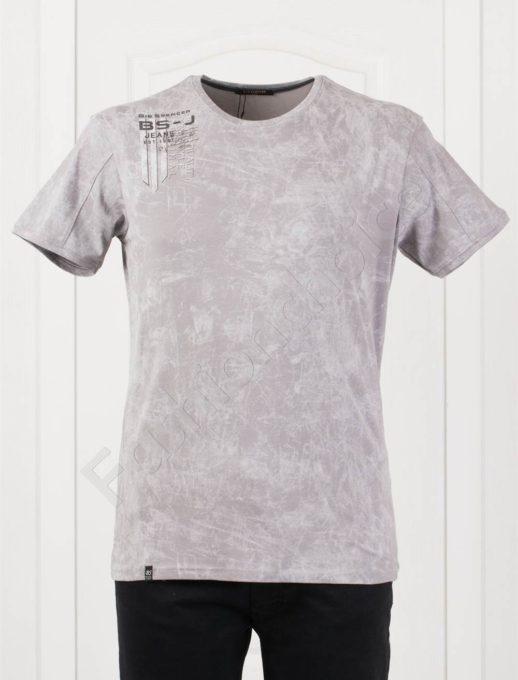 Plus Size T-shirt σε γκρι κωδ 148-4
