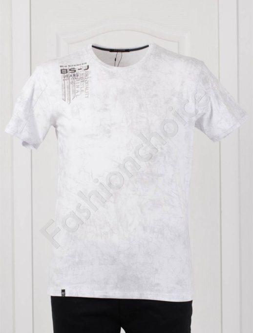 Plus Size T-shirt σε λευκό κωδ 148-2