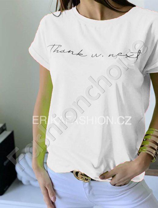 Μπλούζα με επιγραφή σε neon λευκό κωδ 965-12